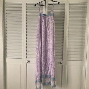 TOBI purple patterned maxi dress